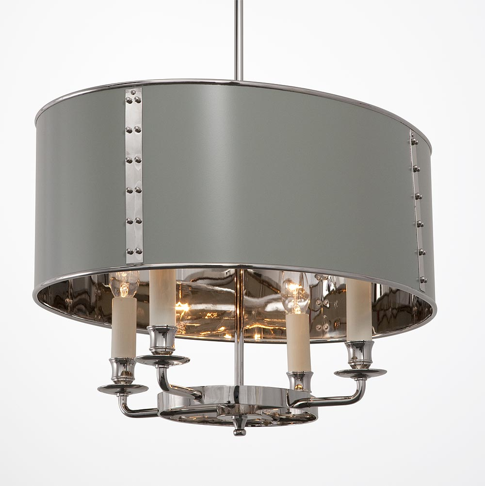 hanging oval drum shade light hs 339