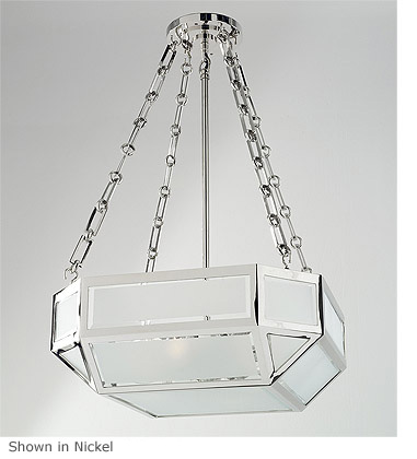 Suspended emerald ceiling light product su 264