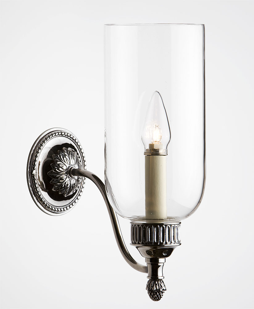 Hurricane Wall Sconce - Pair Of 19th Century Hurricane Wall Sconces At 1stdibs, Visual Comfort ...